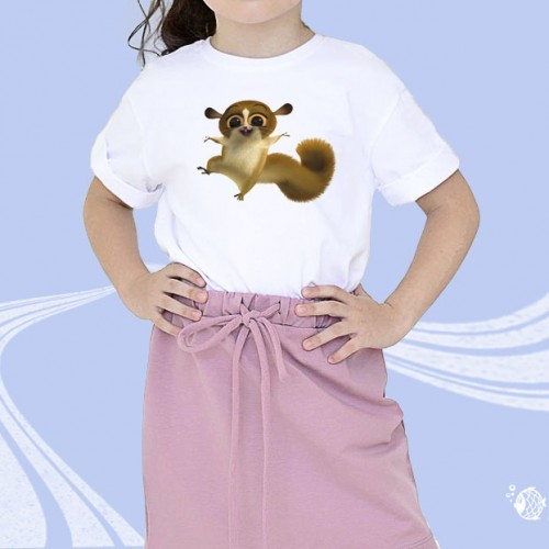 """Детская футболка с принтом """"Белка"""""""