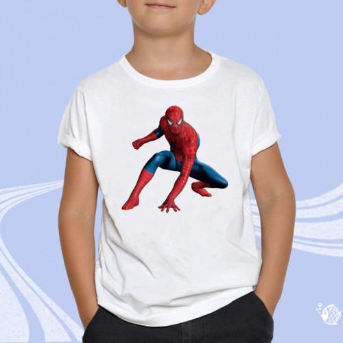 """Детская футболка с принтом """"Человек паук"""""""