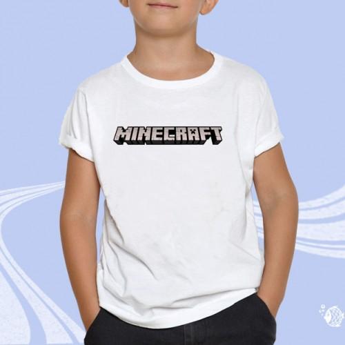 """Детская футболка с принтом """"MineCraft"""""""