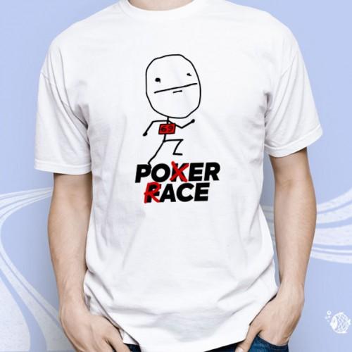 """Мужская футболка с принтом """"Poxer Race"""""""