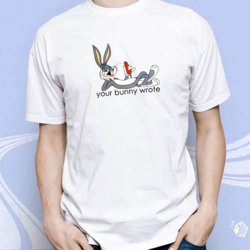 """Мужская футболка """"Том и Джерри - Youк bonny wrote"""""""