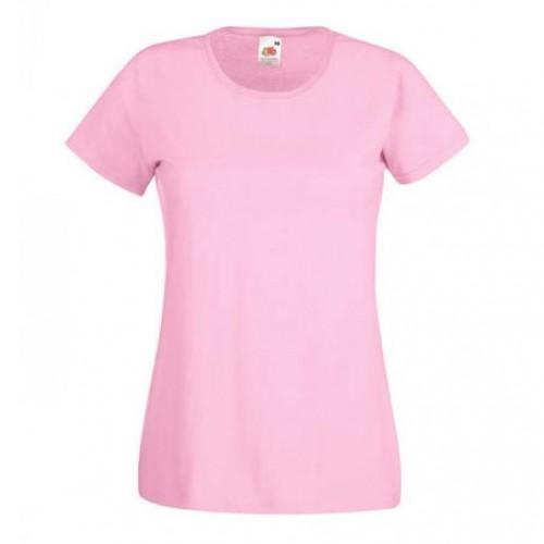 Женская футболка однотонная Разовая