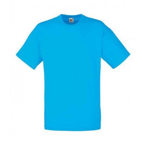 Мужская футболка однотонная Голубая