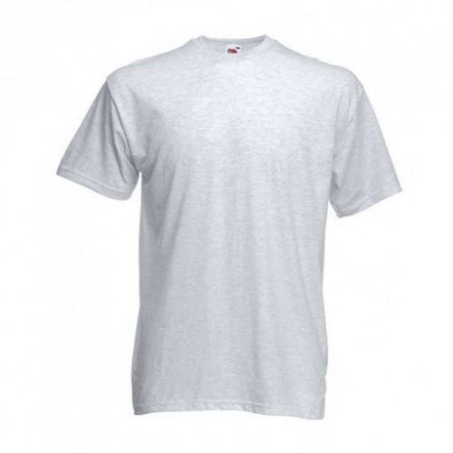 Мужская футболка однотонная Серый-маланж