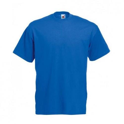 Мужская футболка однотонная Синяя
