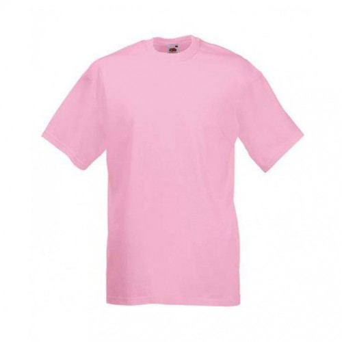 Мужская футболка однотонная Светло-разовая