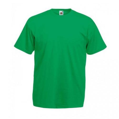Мужская футболка однотонная Зеленая