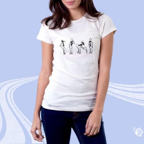 """Футболка женская """"Макет Woman_003"""""""