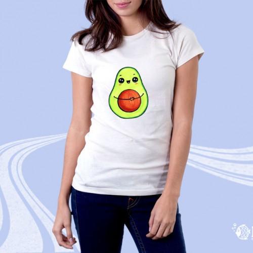 """Женская футболка с принтом """"Грушка"""""""