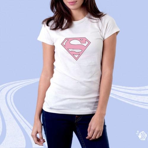 """Женская футболка с принтом """"Супермен"""""""