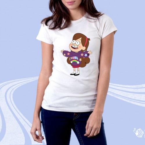 """Женская футболка с принтом """"Радость"""""""