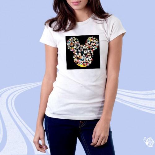 """Женская футболка с принтом """"Мики Маус"""""""