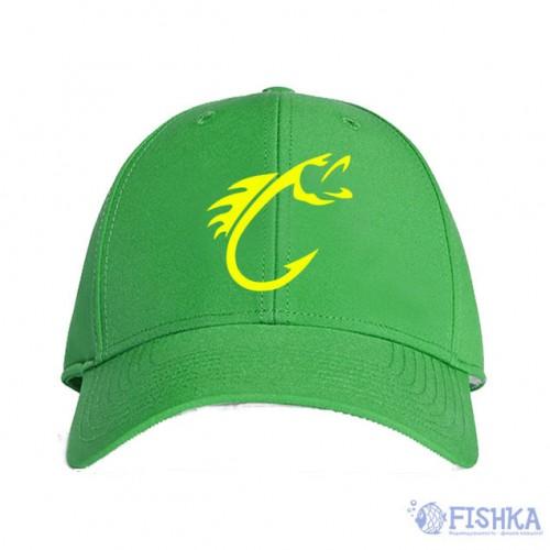 Кепка с логотипом Зеленая