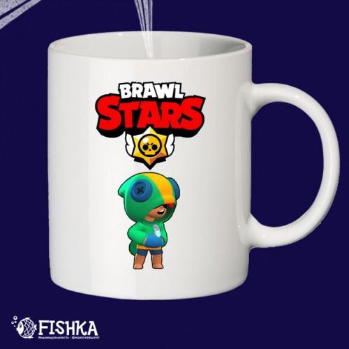 """Чашка с принтом """"Brawl Stars"""""""