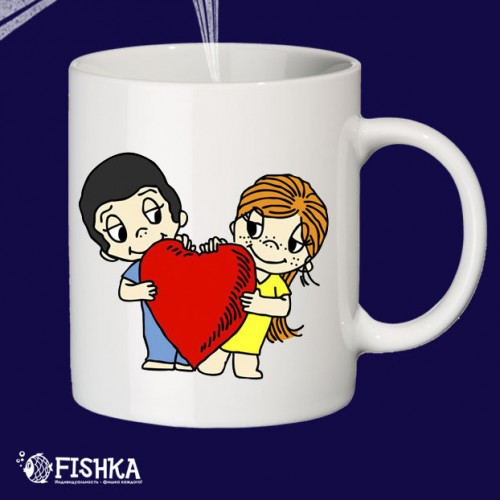 "Чашка с принтом ""Love"""