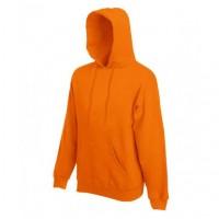 Худи однотонное Оранжевое