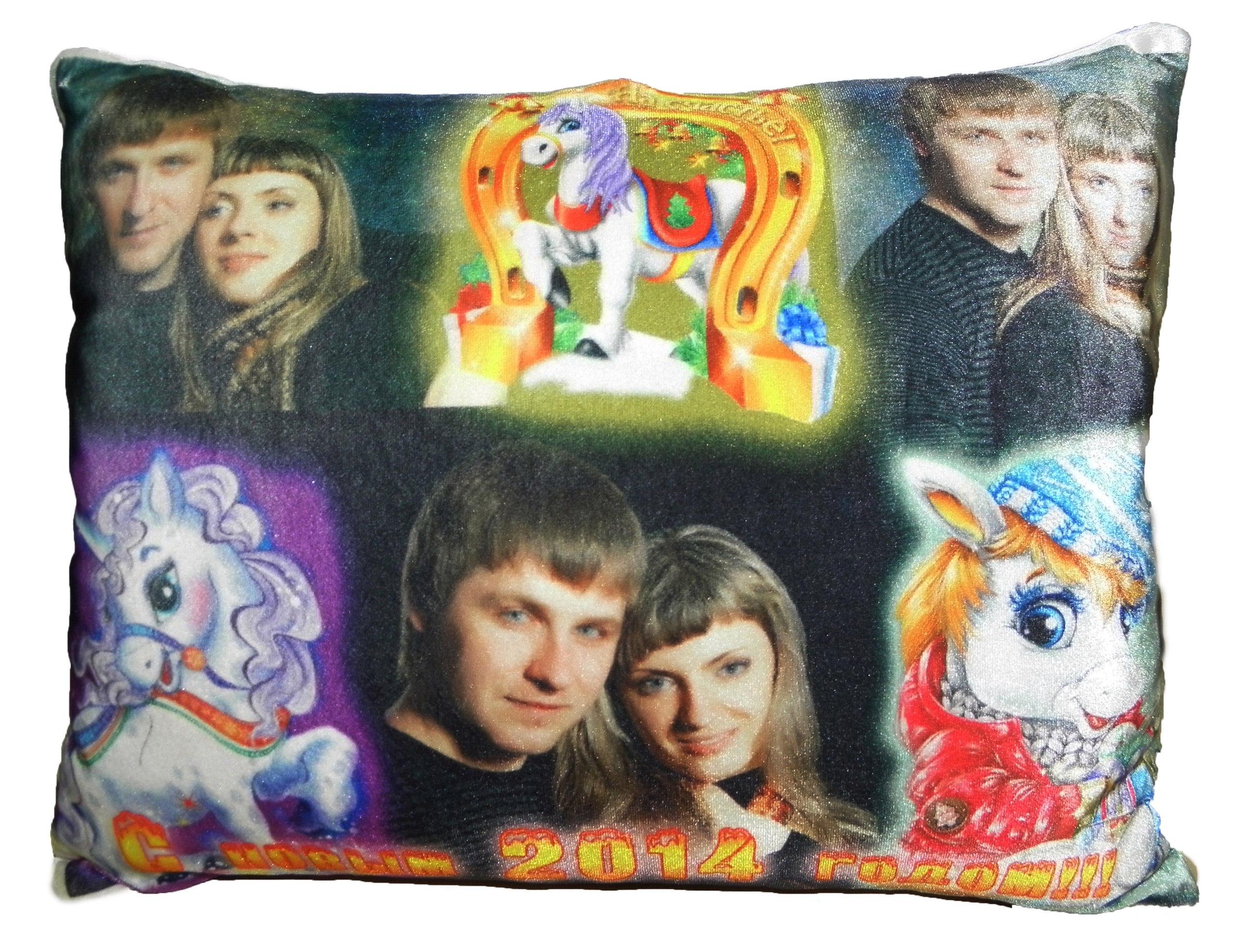 Сделать качественные подушки с фото на заказ в Днепре